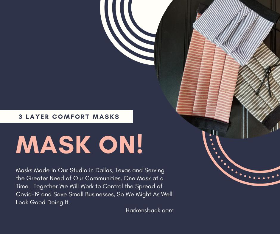 Masks - Covid 19 - Reusable Protection