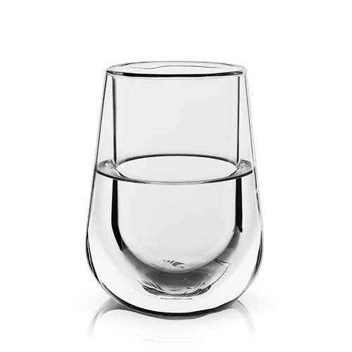 Double Walled Chilling Wine Glass