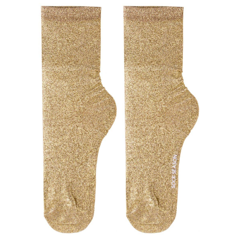 Glitterati Socks - Gold
