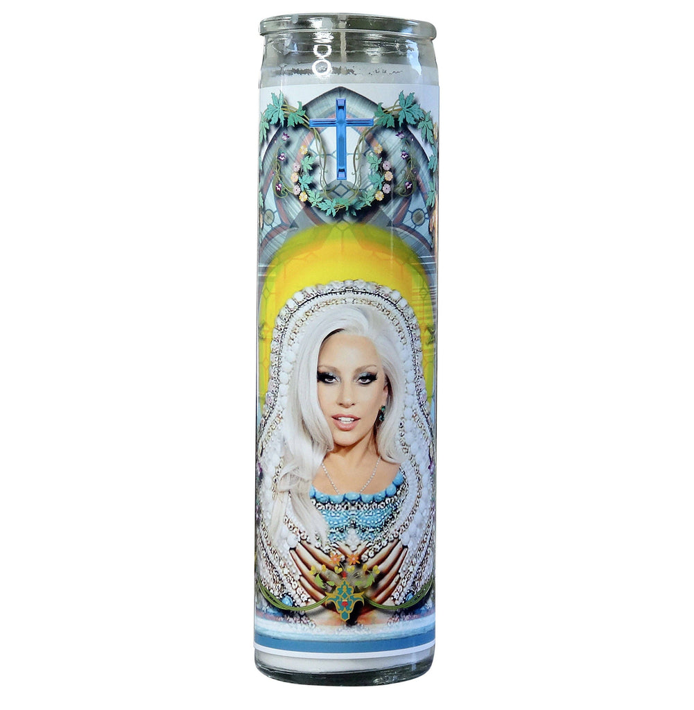 Lady Gaga Celebrity Prayer Candle