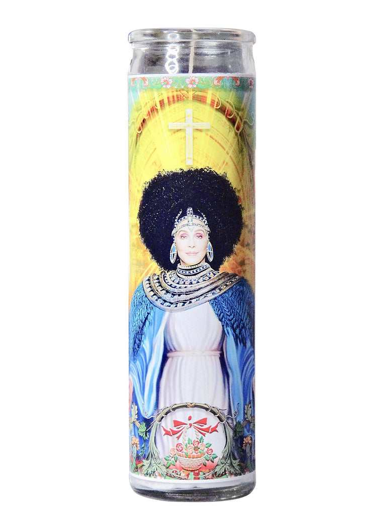 Cher Celebrity Prayer Candle