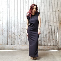 Spine Back Midi Dress