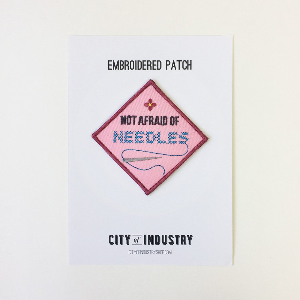 Embroidery Needles Patch