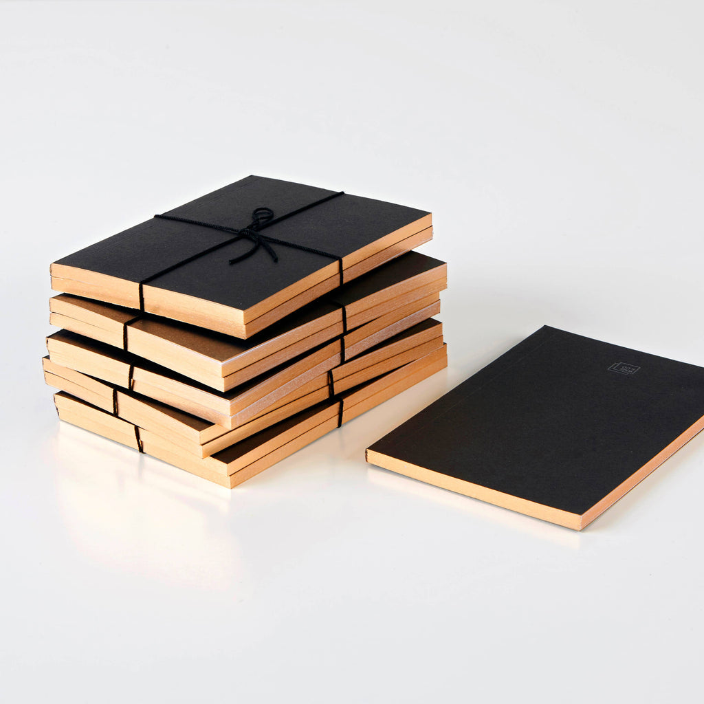 Mini Notebook Set -Rose Gold Edged