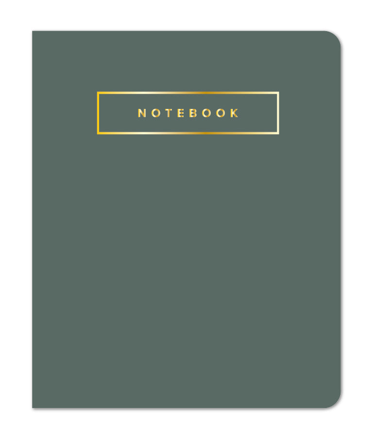 Small Sewn Notebook, Sequoia