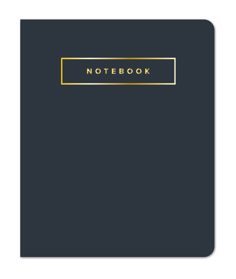 Small Sewn Notebook, Navy