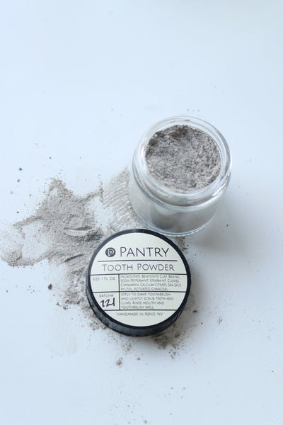 Pantry Products - Smile Brightening Tooth Powder