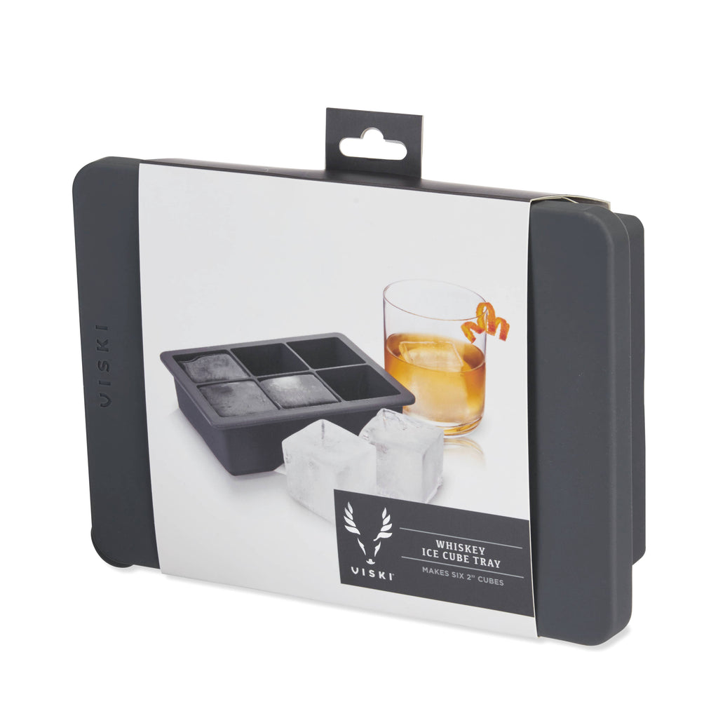 Professional: Whiskey Ice Cube Tray with Lid
