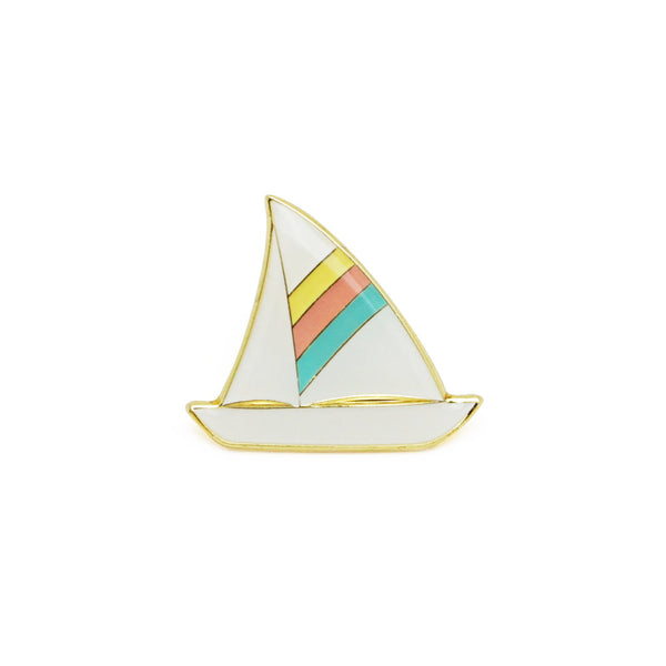 Lucky Horse Press - Sailboat Enamel Pin