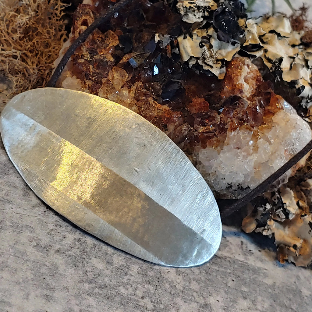 Sterling Silver Large Shield
