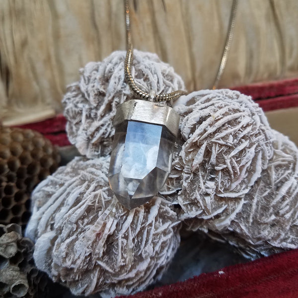 Clear Quartz Tower Necklace