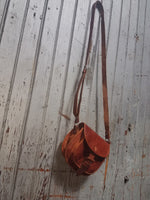 Small Solid Mexican Leather Bag