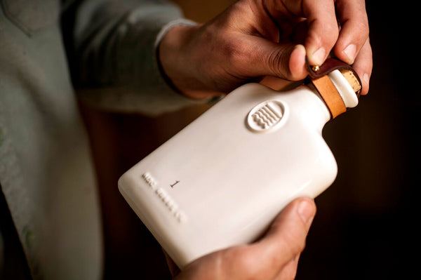 Misc Goods Co. - Ivory Ceramic Flask