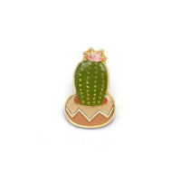 Lucky Horse Press - Flowering Cactus Enamel Pin