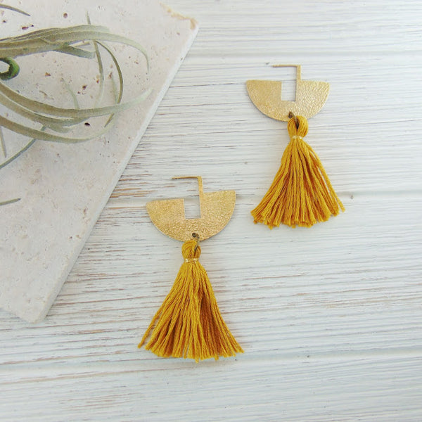 Dynamo - Modern Boho Earrings