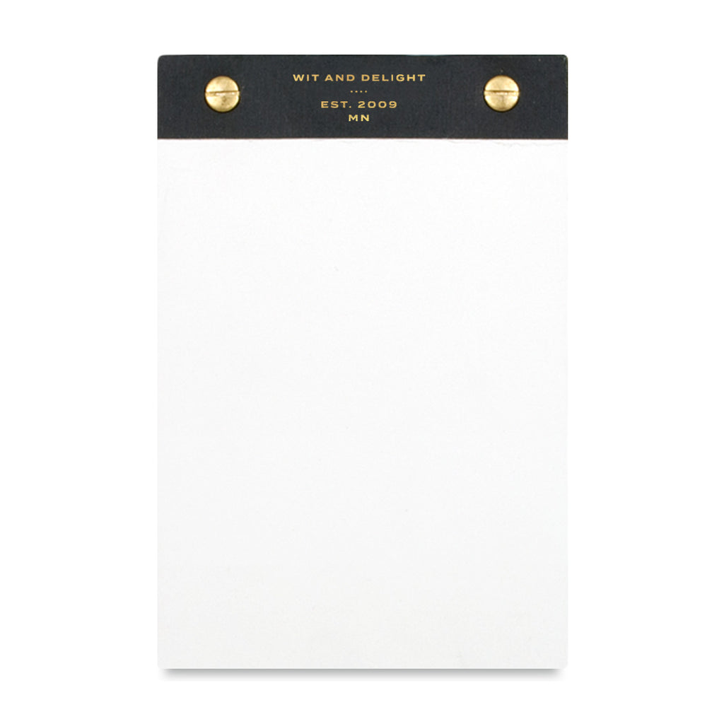 Desktop Block Notepad - Black