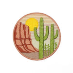 Lucky Horse Press - Saguaro Embroidered Patch