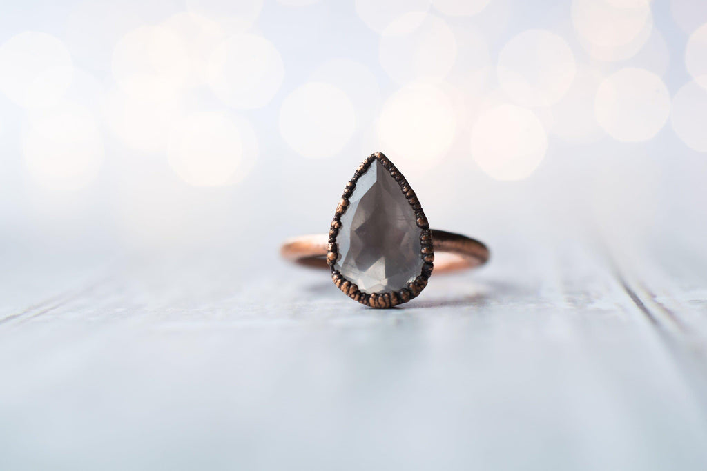 Organic Stone Stacking Ring