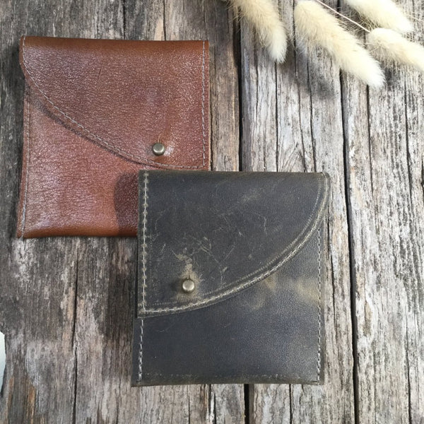 Leather Wallet Midi