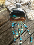 Opalized Wood Collar