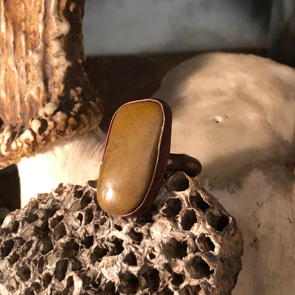 Texas River Stone Ring