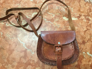 Small Mexican Leather Bag