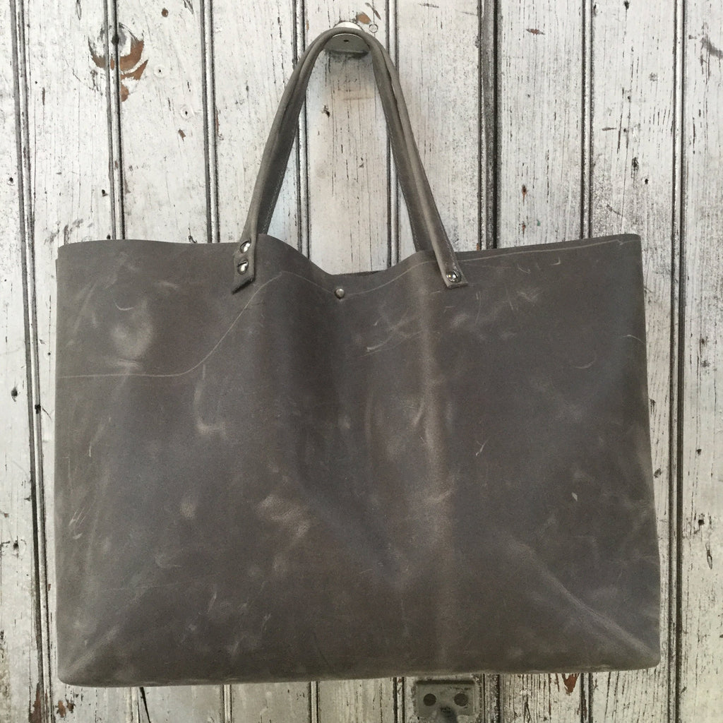 Medium Gray Tote Bag