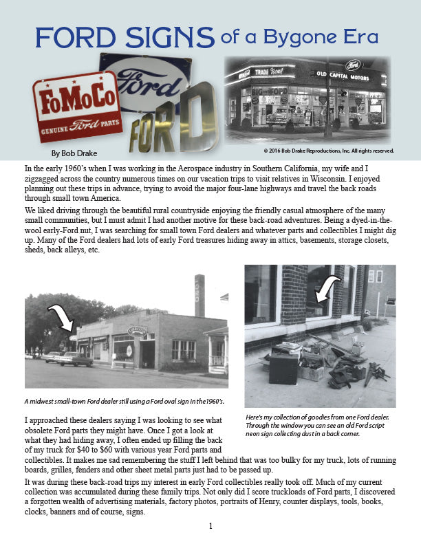 Ford Signs of a Bygone Era_1
