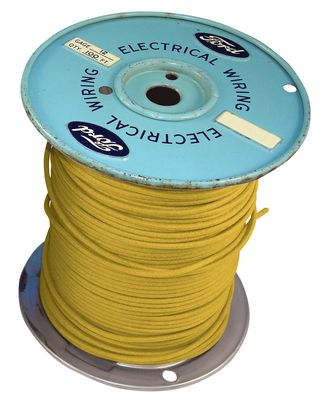 UNIVERSAL 14 GAUGE YELLOW WIRE