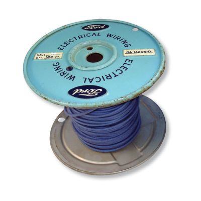 UNIVERSAL 10 GAUGE BLUE WIRE