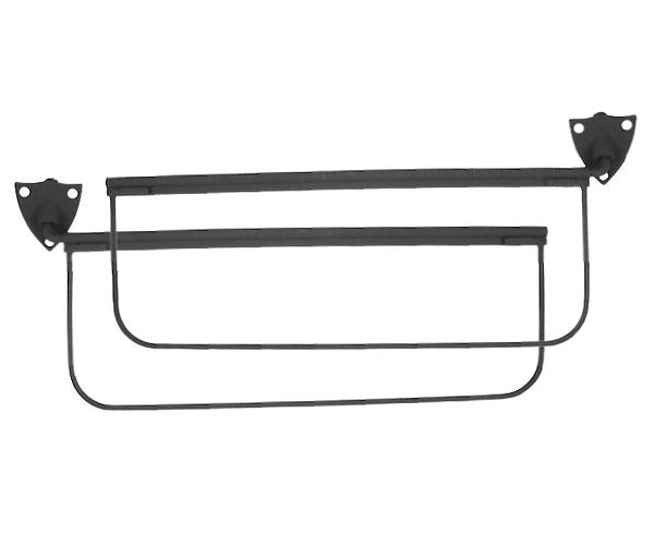 1935-48 CLOSED CAR SUN VISORS (BLACK)