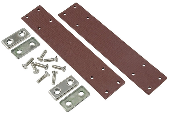 CLEARANCE - NOT RETURNABLE CHECK STRAP KIT 4 3/4 CHROME