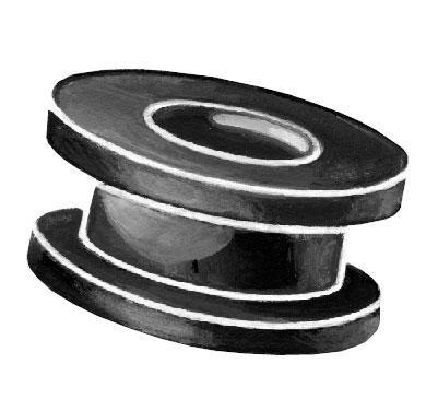 1932-34 CAR, PU & COMM BATTERY CABLE FRAME GROMMETS