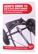 Load image into Gallery viewer, BOOK BANJO AXLE QUICK-CHANGE-MODIFY