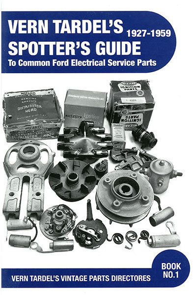 BOOK SPOTTER'SGUIDE FORD ELECTRICAL