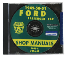 Load image into Gallery viewer, 1949-51 CAR SHOP MANUAL CD