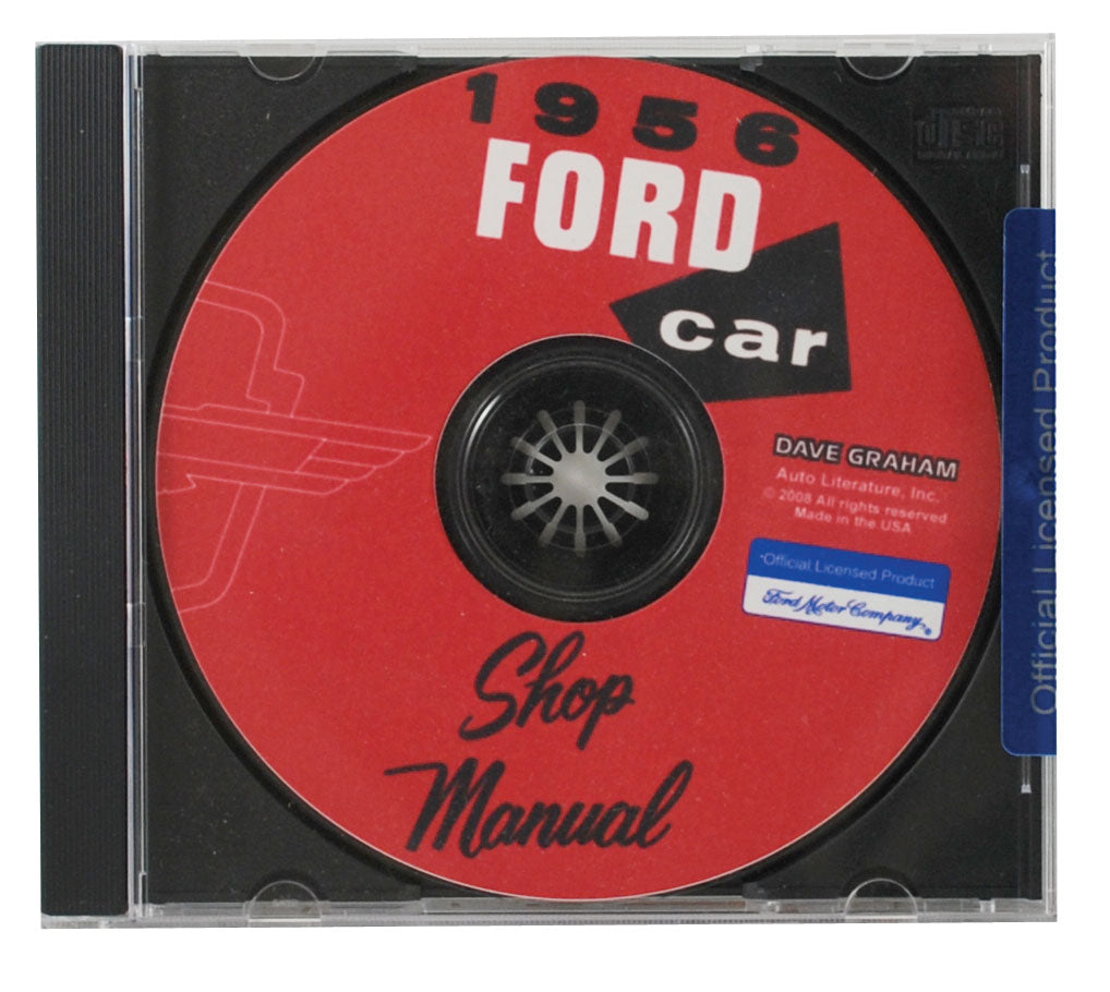1956 CAR SHOP MANUAL CD