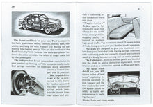 Load image into Gallery viewer, 1951 CAR OWNERS MANUAL