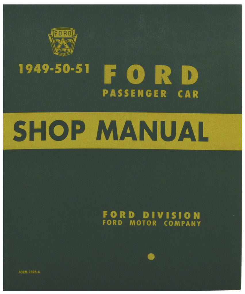 1949-51 CAR SHOP MANUAL