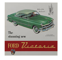 Load image into Gallery viewer, 1951 VICTORIA FOLDOUT SALES BROCHURE