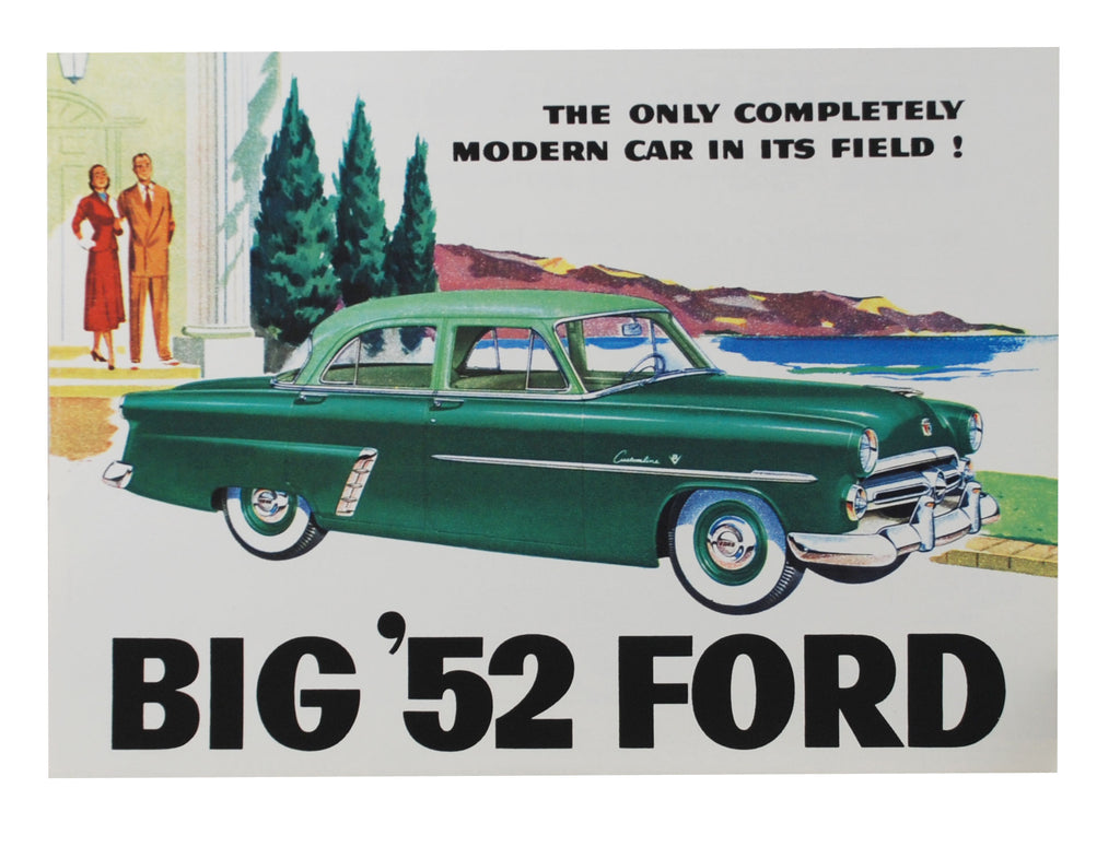 1952 CAR SALES BROCHURE