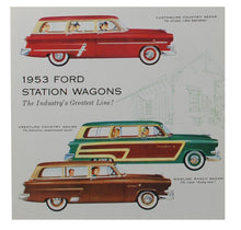 Load image into Gallery viewer, 1953 STATION WAGON SALES BROCHURE
