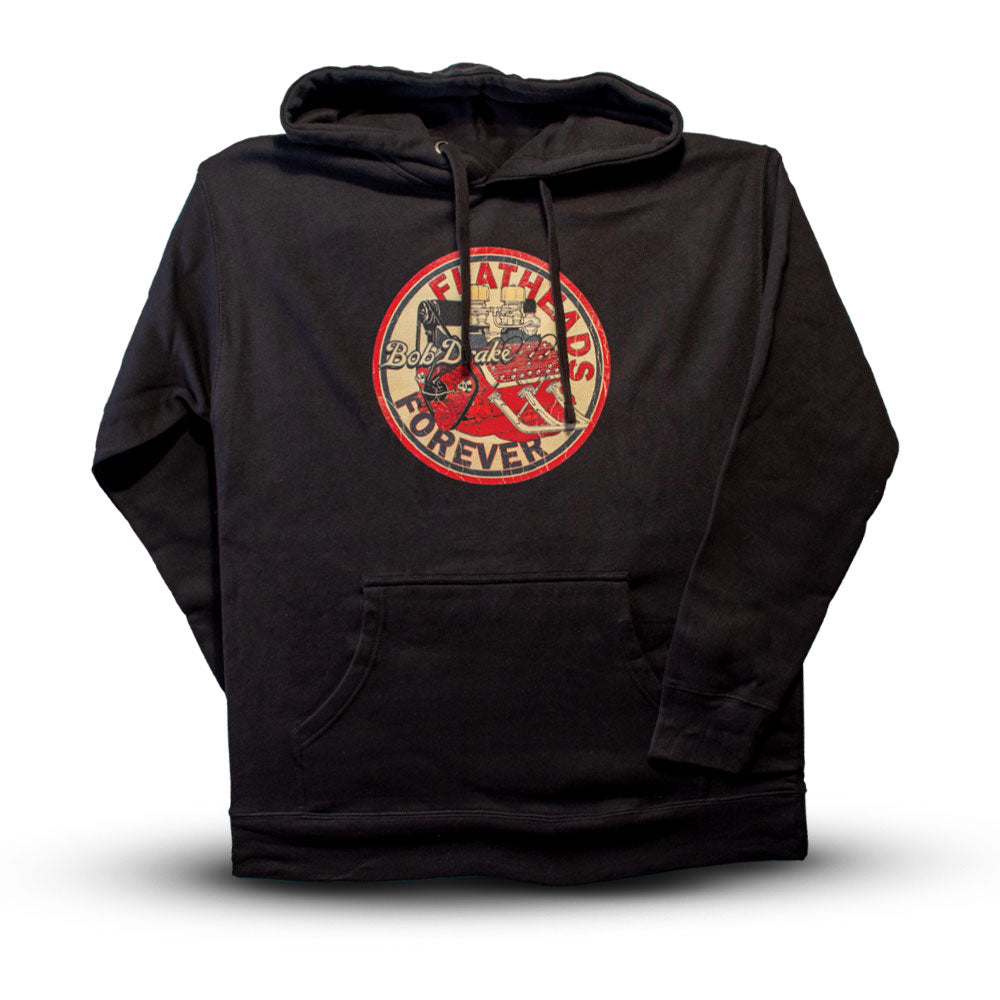 Hoody Flathead Forever,X-Large