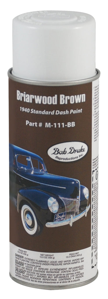 1940 STANDARD DASH PAINT (BRIARWOOD BROWN)
