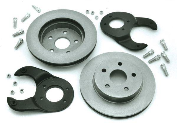 Rear Disc Brakes for 5x4-1/2 Big Bearing Axle (Clearance); 1932-48 Car, Pickup
