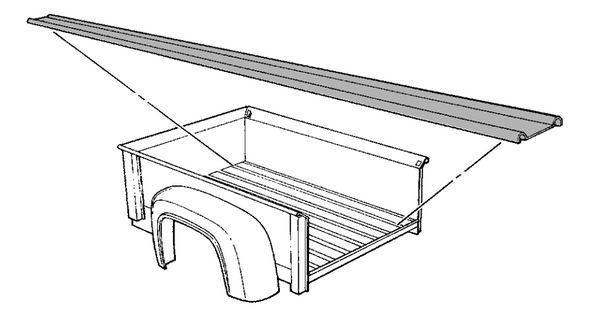 Bed Strips (Clearance); 1961-64 Pickup