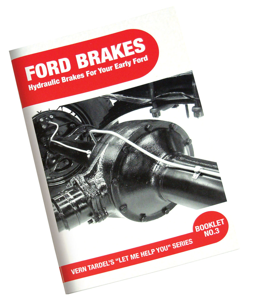 BOOK FORD BRAKES- SERVICE/REPAIR