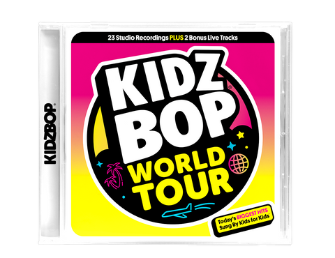 KIDZ BOP WORLD TOUR CD