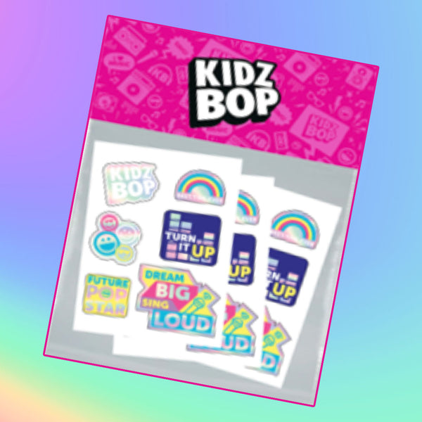 KIDZ BOP Holographic Sticker Sheet Set