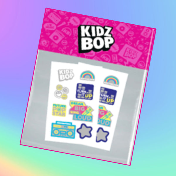 KIDZ BOP Metallic Temporary Tattoo Set